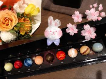 花束、、、(2018/03/06 16:45)河原 理子のブログ画像