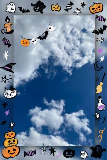 ☁️多し秋晴れ☀️(2020/10/21 11:43)月城 はるきのブログ画像