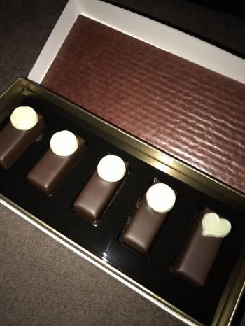 チョコまみれ。(2018/11/05 13:03)高島 美羽のブログ画像