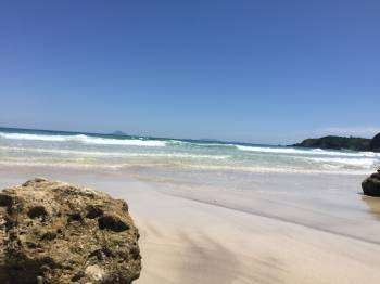 白浜の海をみなさまに♡(2017/06/09 10:53)星野 ななのブログ画像