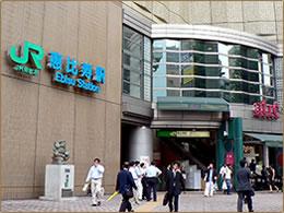 JR 恵比寿駅 西口のイメージ