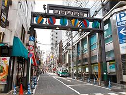 恵比寿銀座商店街のイメージ